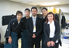 NHK紅白歌合戦の楽屋にて